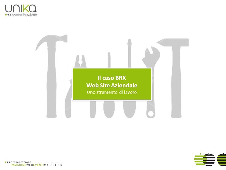 Il caso BRX Web Site Aziendale Uno strumento di lavoro