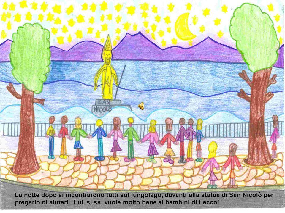 Un giorno i bambini della seconda della scuola di Maggianico, tristi perché non potevano più giocare insieme si telefonarono e si accordarono per risolvere la questione.