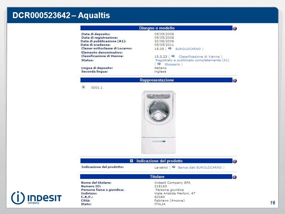 DCR000523642 – Aqualtis 16