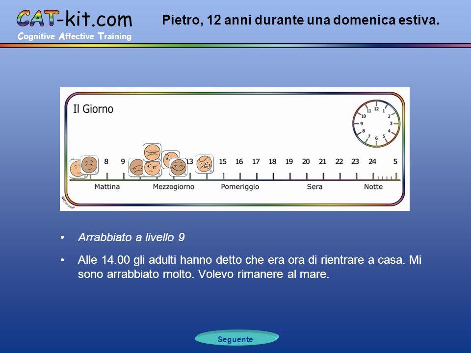 C ognitive A ffective T raining Pietro, 12 anni durante una domenica estiva.