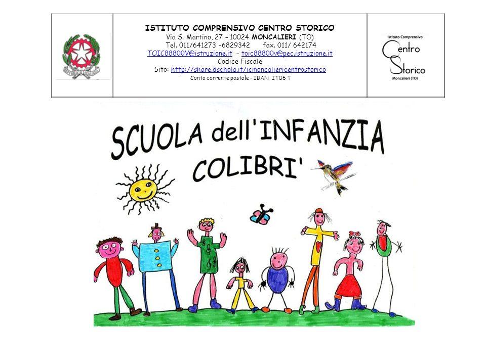 ISTITUTO COMPRENSIVO CENTRO STORICO Via S.Martino, 27 – 10024 MONCALIERI (TO) Tel.