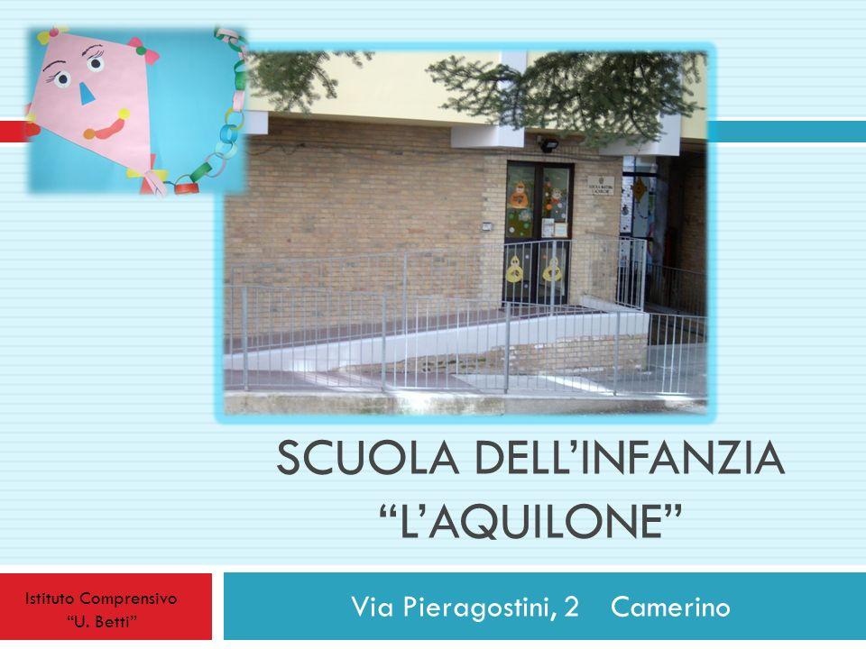 SCUOLA DELLINFANZIA LAQUILONE Via Pieragostini, 2 Camerino Istituto Comprensivo U. Betti