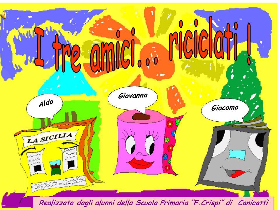 A Natale il libro riciclato finisce a scuola, nella classe di Vincenzo.