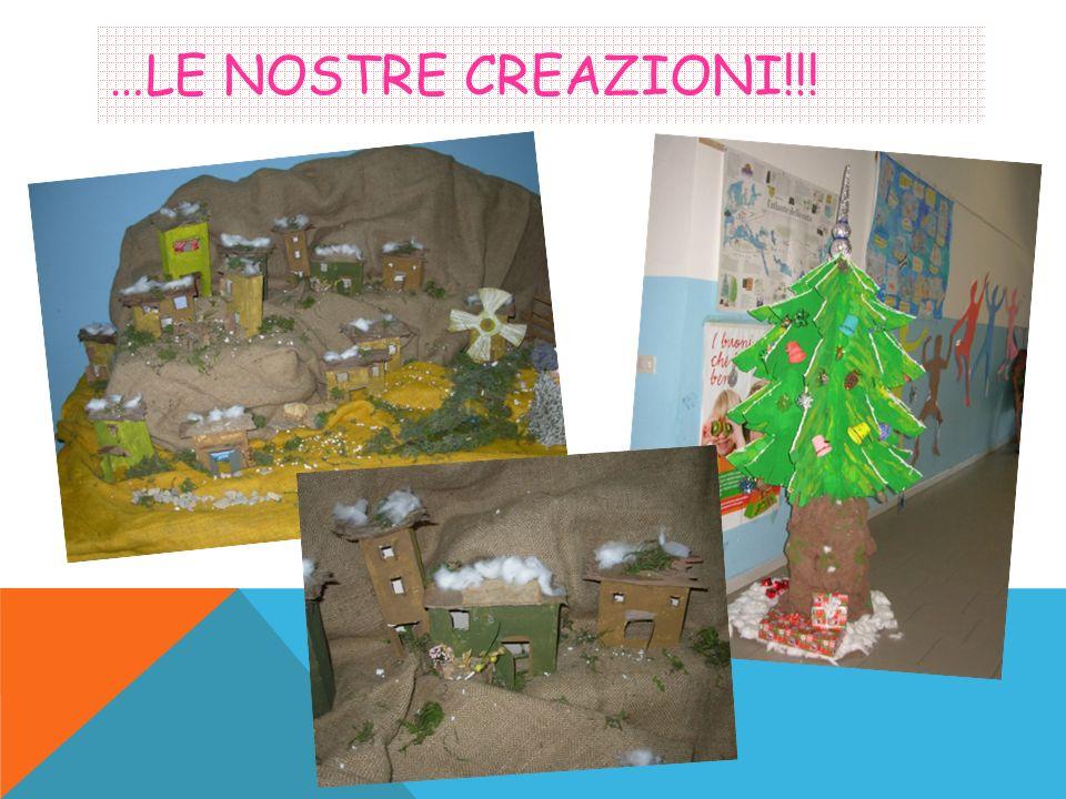 …LE NOSTRE CREAZIONI!!!