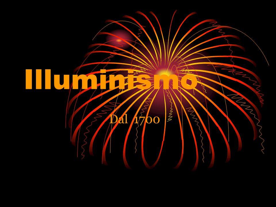 Illuminismo Dal 1700