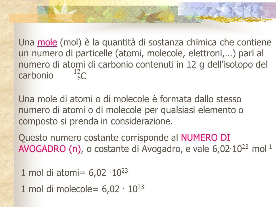 LA MASSA DEGLI ATOMI UNITA DI MASSA ATOMICA u (Da o u.m.a.): unità di massa specifica per gli atomi che permette di riferirci alle masse infinitesimal