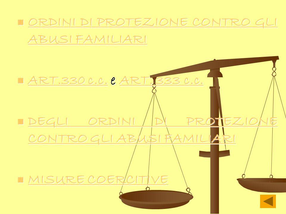 ORDINI DI PROTEZIONE CONTRO GLI ABUSI FAMILIARI ORDINI DI PROTEZIONE CONTRO GLI ABUSI FAMILIARI ORDINI DI PROTEZIONE CONTRO GLI ABUSI FAMILIARI ORDINI