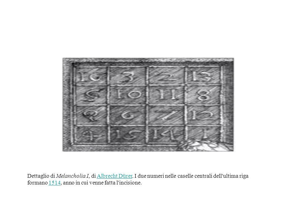 LA STORIA I quadrati magici erano noti già in Cina nei primi secoli dopo Cristo, e forse addirittura nel IV secolo AC.