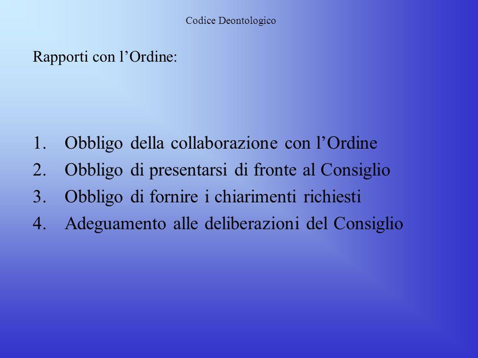Codice Deontologico Principi Generali: 1.La professione di Ingegnere deve essere esercitata nel rispetto delle leggi dello Stato Italiano 2.Lingegnere