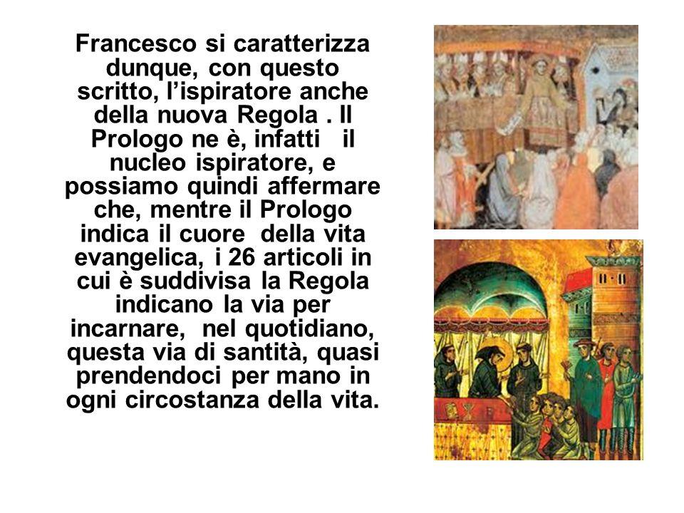 Lorientamento del Concilio Vaticano II, che invita tutti gli Ordini religiosi a ritornare alle origini, alle fonti, è stata una intuizione veramente i