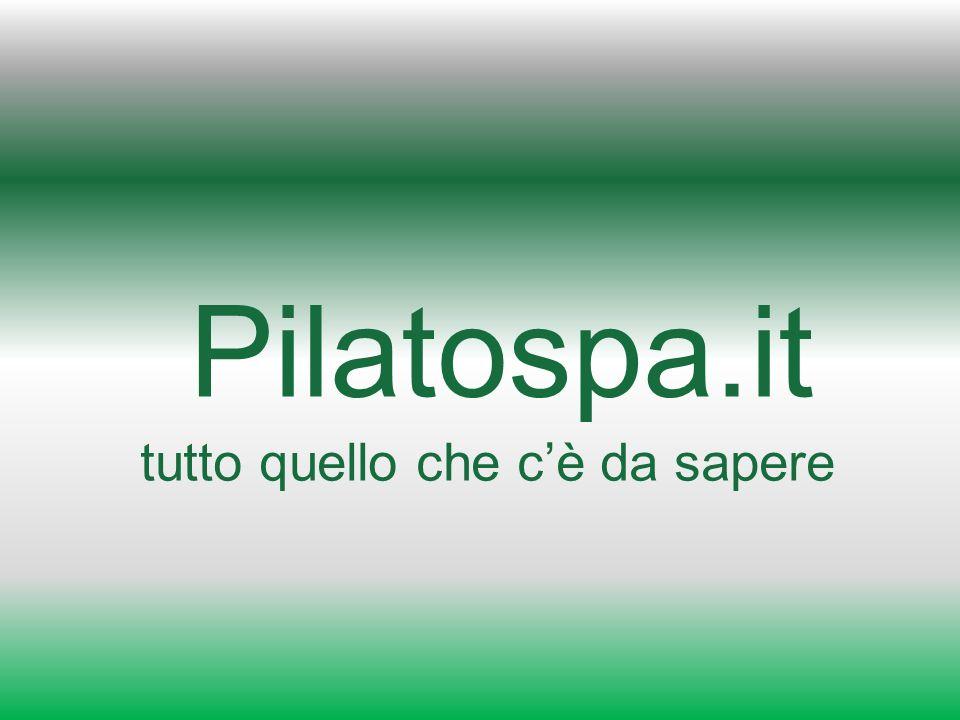 Pilatospa.it tutto quello che cè da sapere