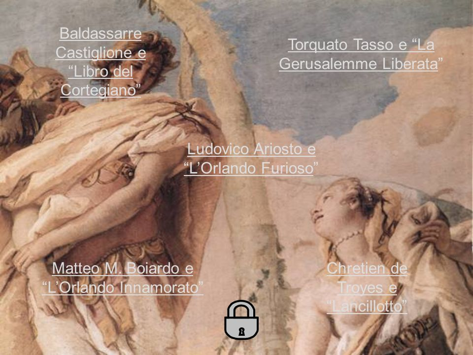 Torquato Tasso e La Gerusalemme LiberataTorquato Tasso e La Gerusalemme Liberata Ludovico Ariosto e LOrlando FuriosoLudovico Ariosto e LOrlando Furios