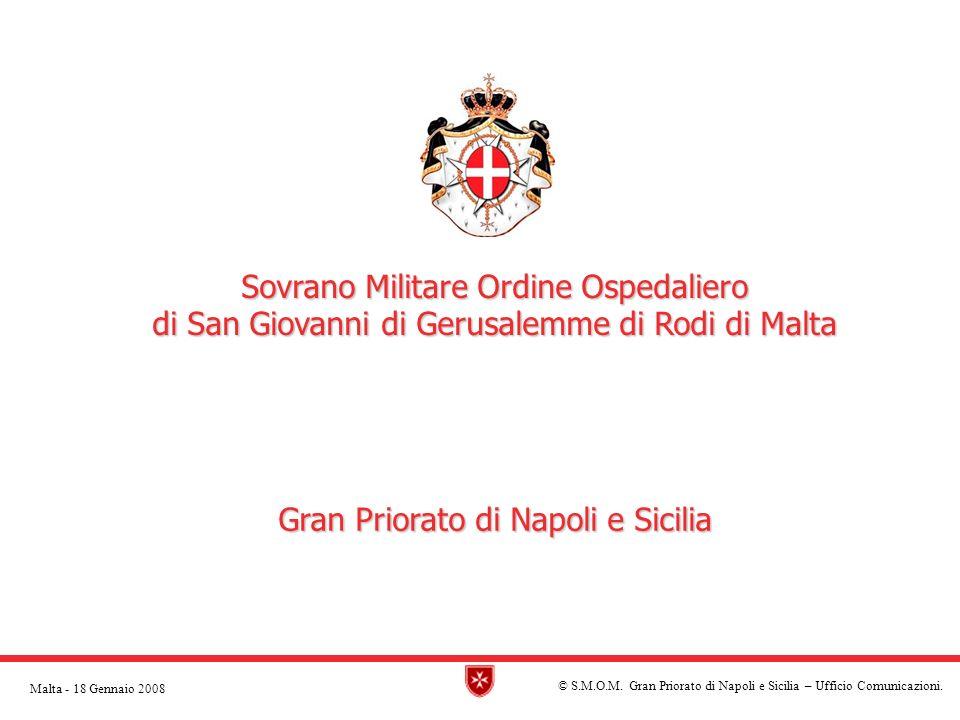 © S.M.O.M.Gran Priorato di Napoli e Sicilia – Ufficio Comunicazioni.