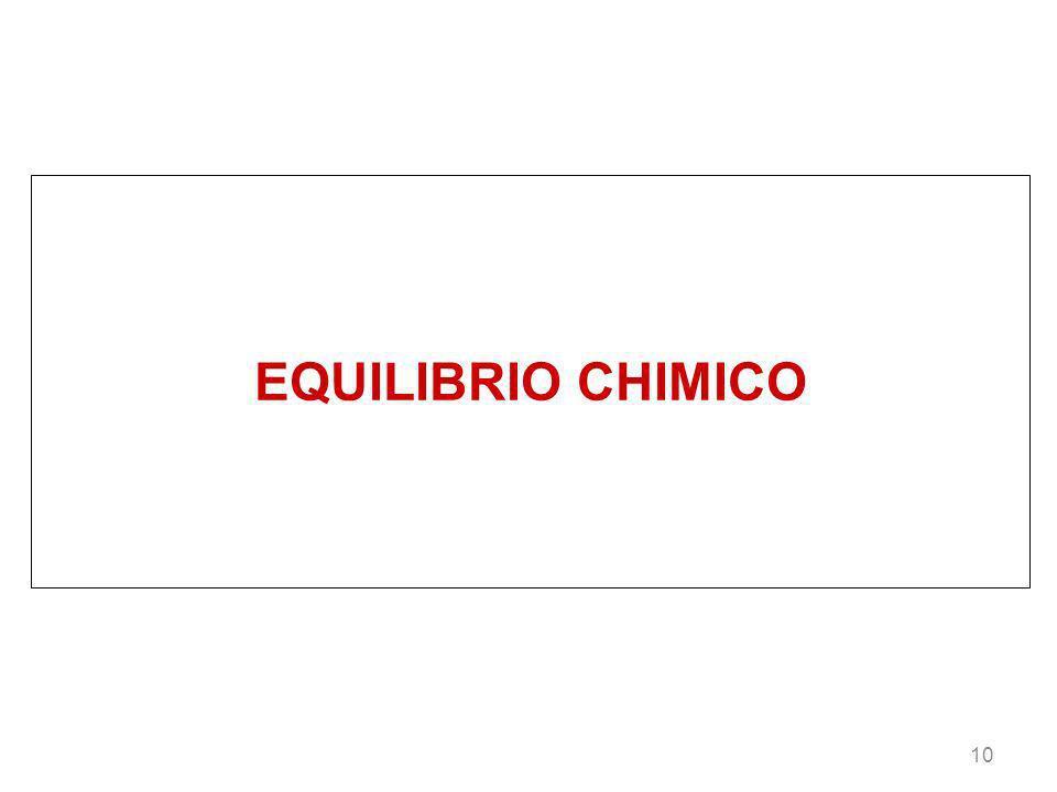 10 EQUILIBRIO CHIMICO
