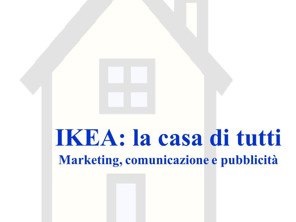 IKEA: la casa di tutti Marketing, comunicazione e pubblicità