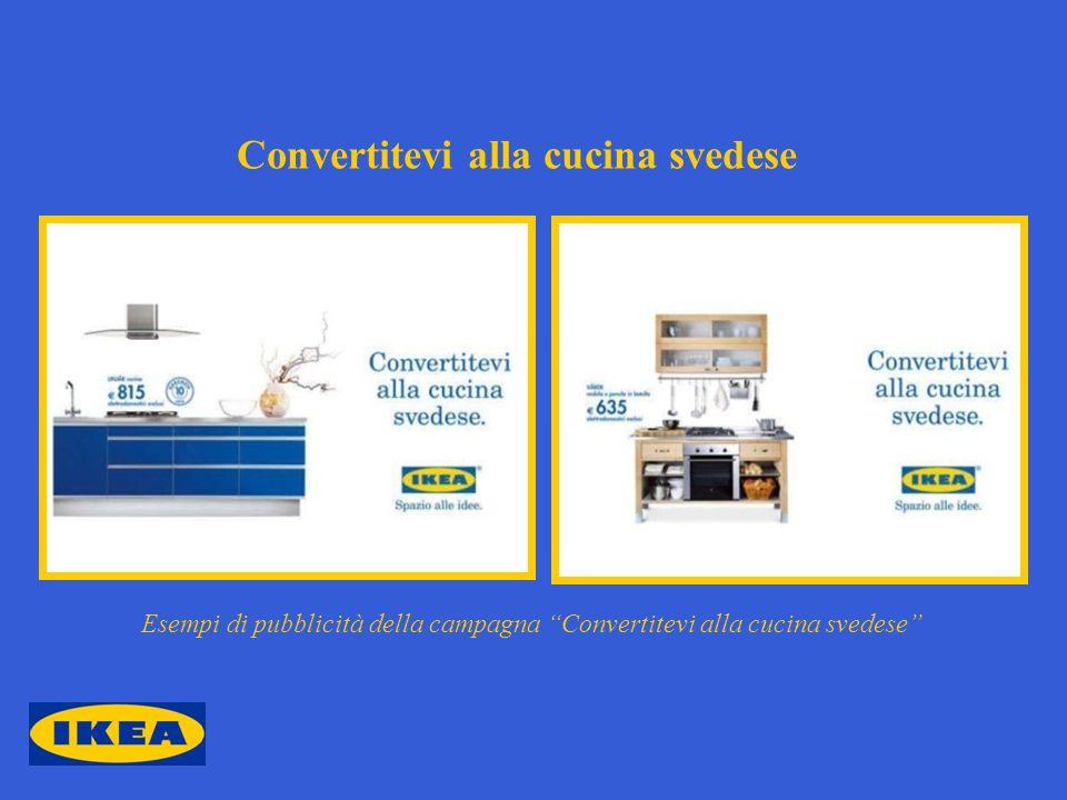 Convertitevi alla cucina svedese Esempi di pubblicità della campagna Convertitevi alla cucina svedese