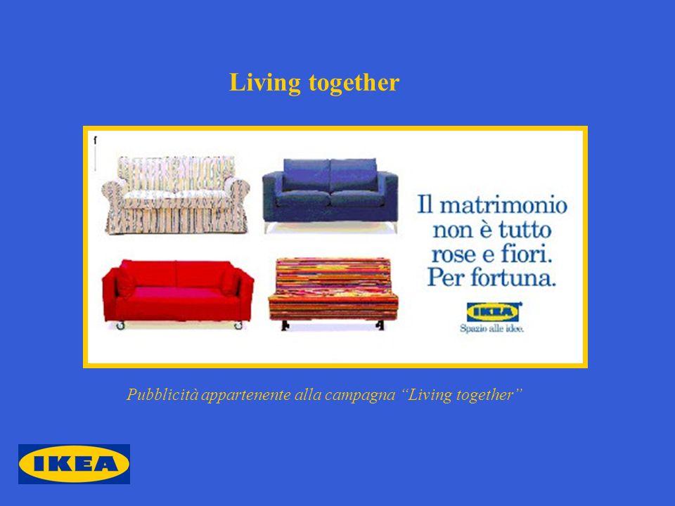 Living together Pubblicità appartenente alla campagna Living together