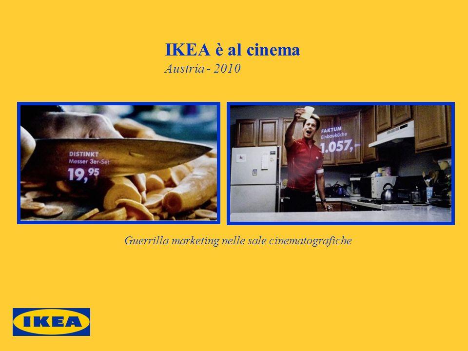 IKEA è al cinema Austria - 2010 Guerrilla marketing nelle sale cinematografiche
