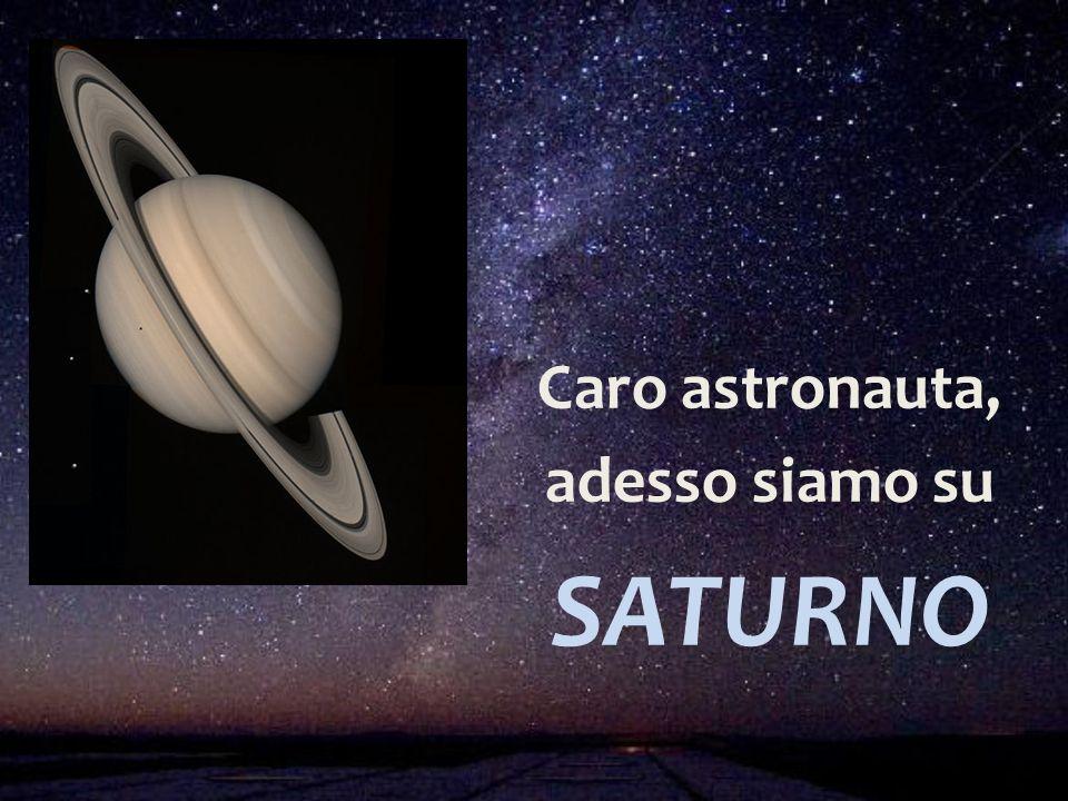 Caro astronauta, adesso siamo su SATURNO