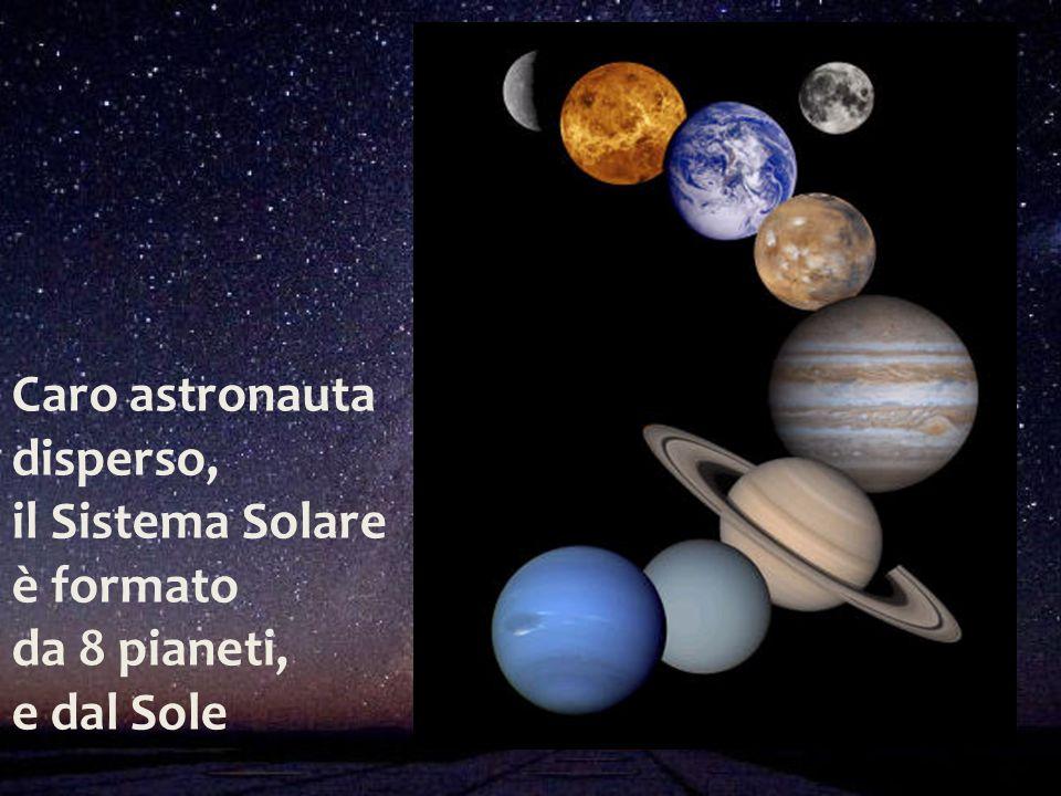 Caro astronauta disperso, il Sistema Solare è formato da 8 pianeti, e dal Sole