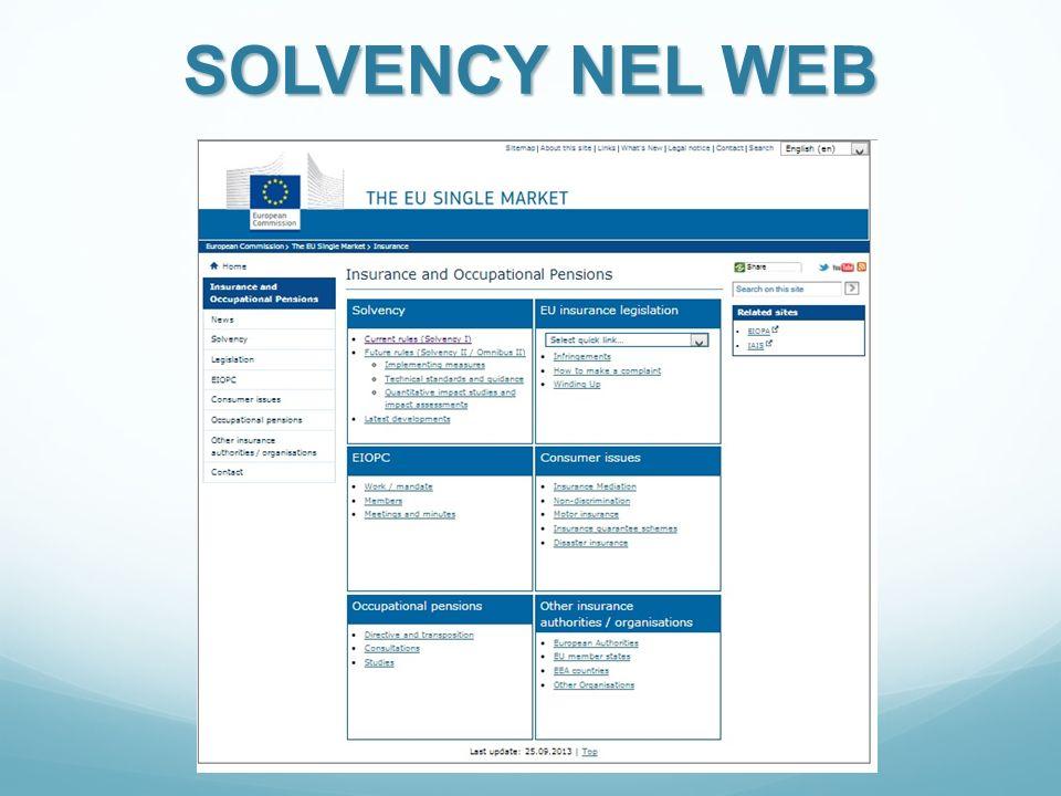 SOLVENCY NEL WEB