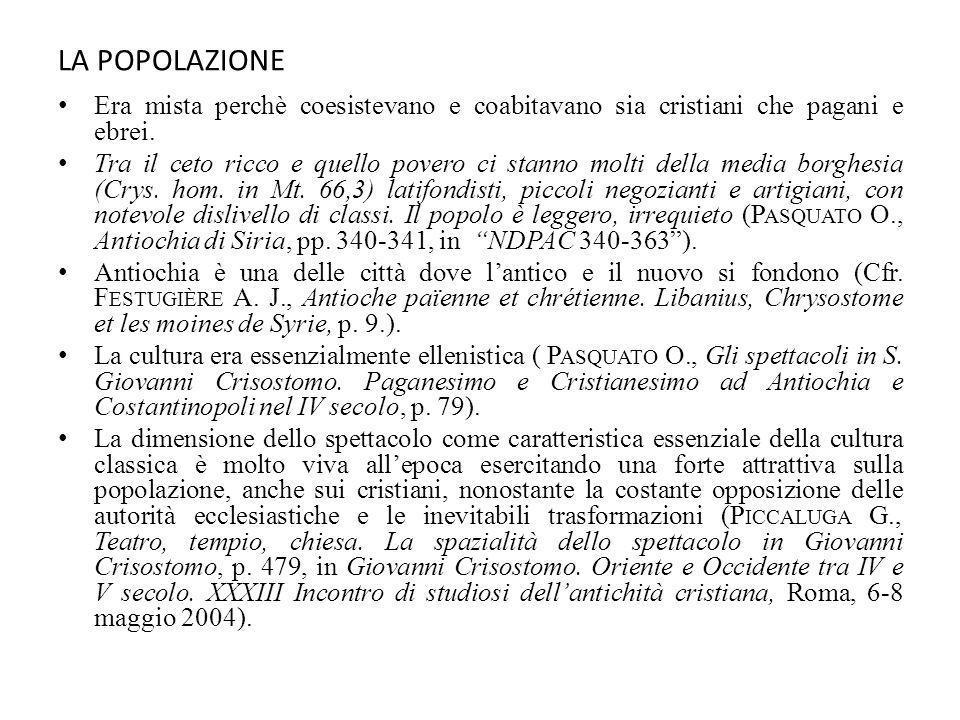 IL DE SACERDOTIO DI GIOVANNI CRISOSTOMO (388-389) STRUTTURA: sei logoi I.