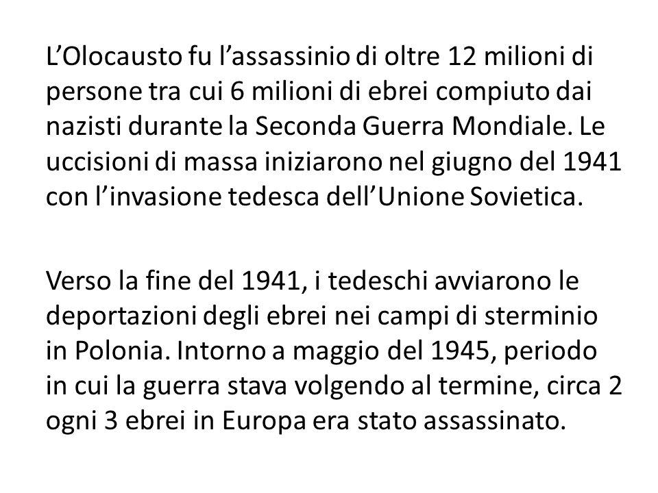 Liberazione di Auschwitz Nel novembre 1944, con il restringersi del fronte, i gerarchi nazisti diedero ordine di cessare le esecuzioni nelle camere a gas e di demolirle assieme ai forni crematori, allo scopo di nascondere le prove del genocidio; i nazisti, tuttavia, distrussero solo le camere e i forni di Birkenau, mentre quella di Auschwitz 1 fu adibita a rifugio antibomba .