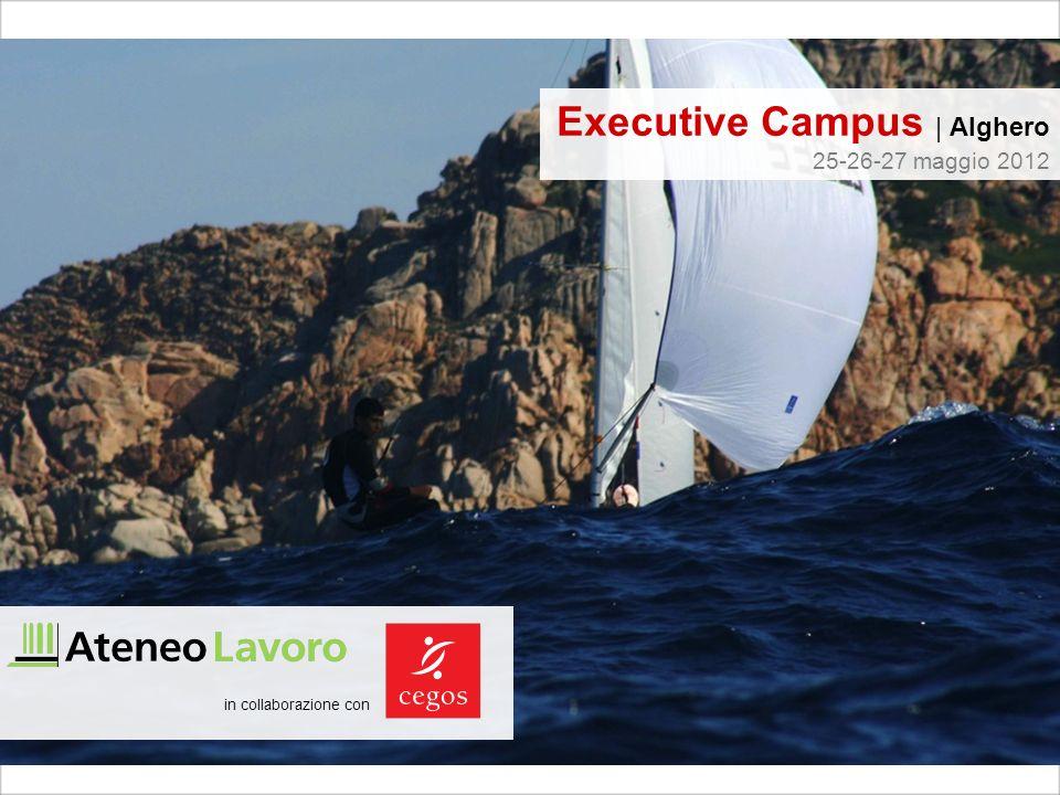 in collaborazione con Executive Campus | Alghero 25-26-27 maggio 2012