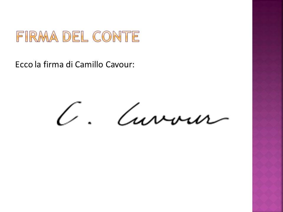 Lo stemma della famiglia dei Conti di Cavour: