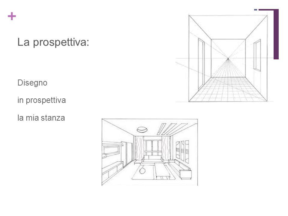 + La prospettiva: Disegno in prospettiva la mia stanza