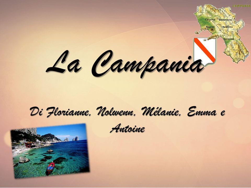 La Campania Di Florianne, Nolwenn, Mélanie, Emma e Antoine