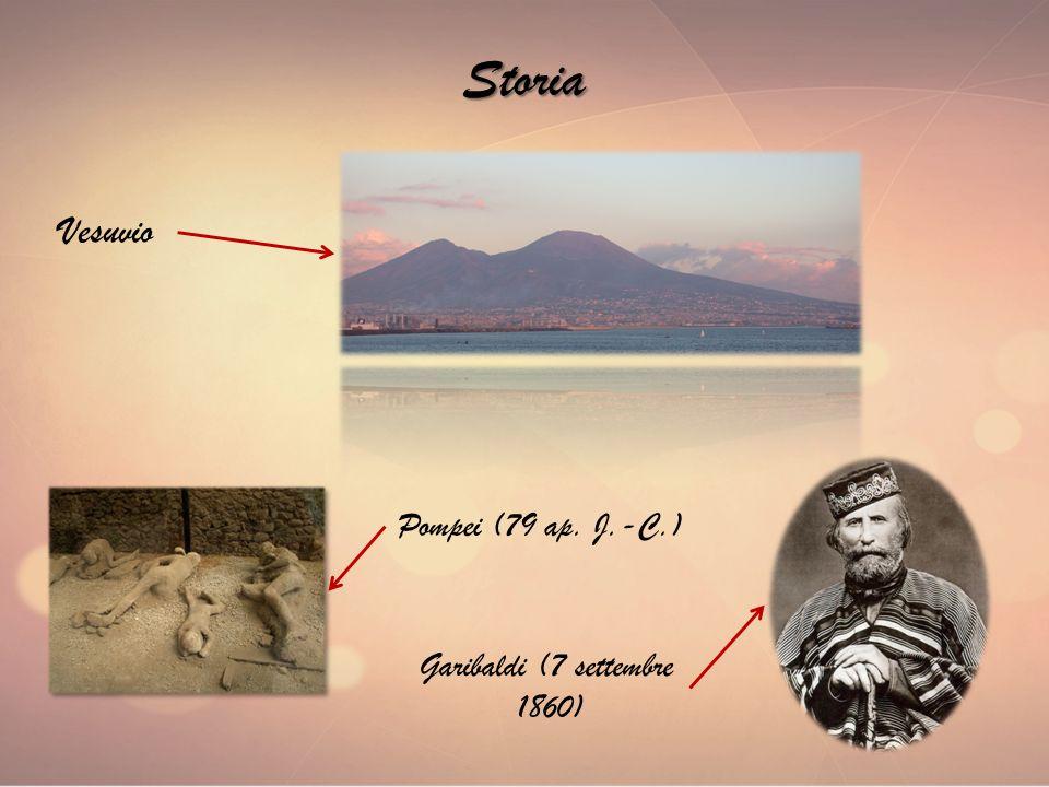 Storia Vesuvio Pompei (79 ap. J.-C.) Garibaldi (7 settembre 1860)