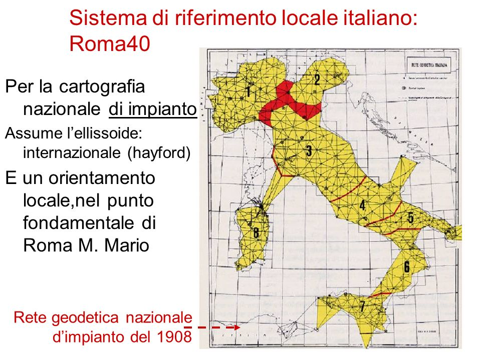 COLLEGAMENTI ALLA POLIGONALE DI PUNTI DI DETTAGLIO Per il problema di Snellius, note le tre coordinate di tre capisaldi è sempre determinata la posizione di un punto di stazione rispetto alla rete nazionale.
