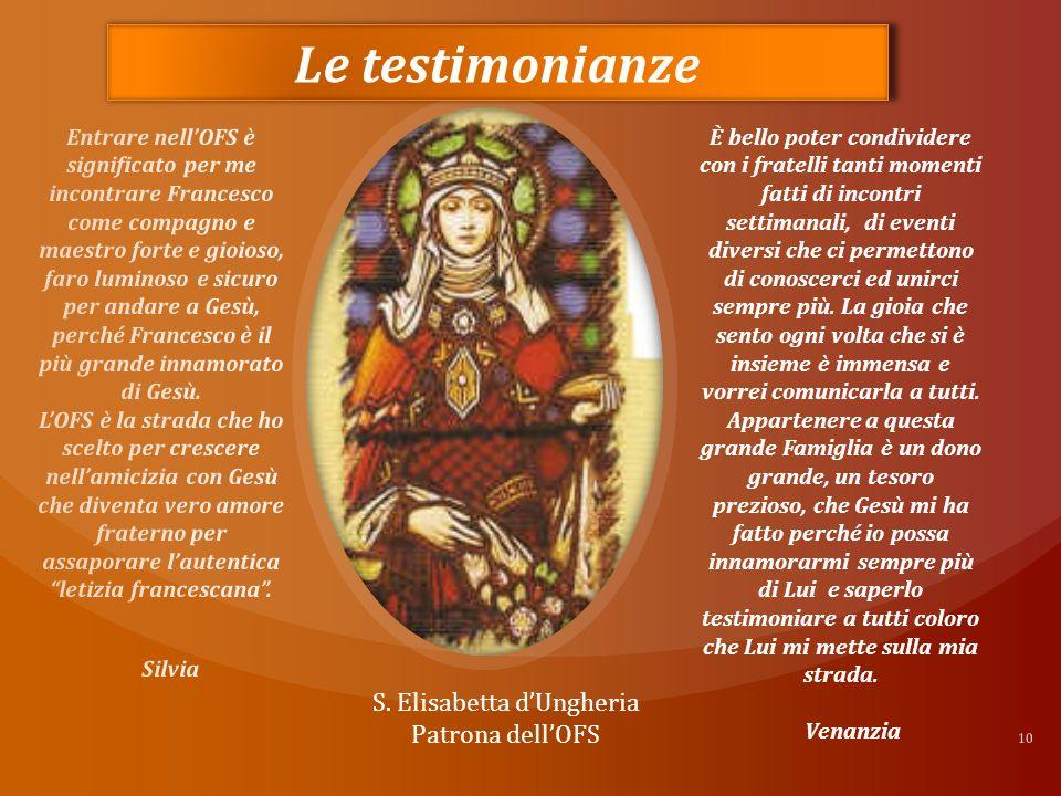 10 Le testimonianze S.