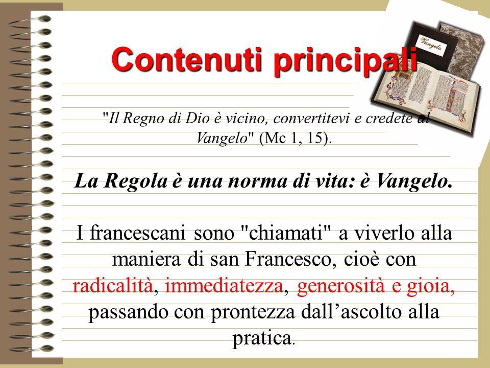 Contenuti principali Contenuti principali Il Regno di Dio è vicino, convertitevi e credete al Vangelo (Mc 1, 15).