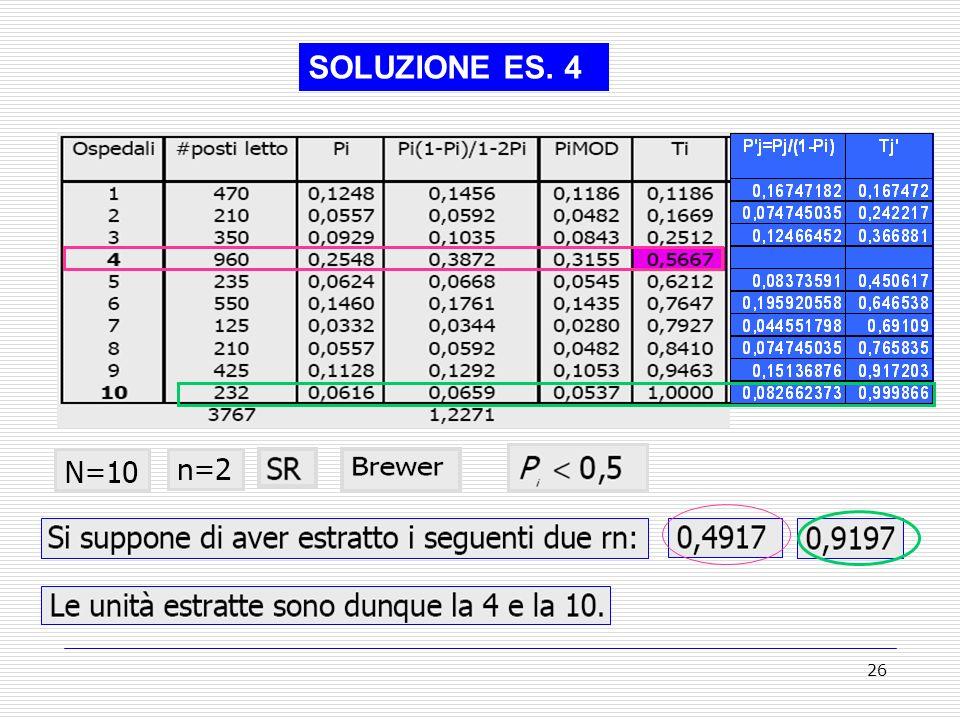 26 SOLUZIONE ES. 4