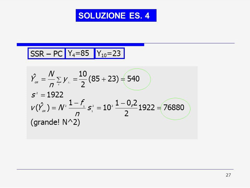 27 SOLUZIONE ES. 4