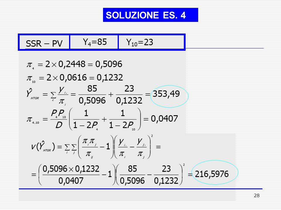28 SOLUZIONE ES. 4