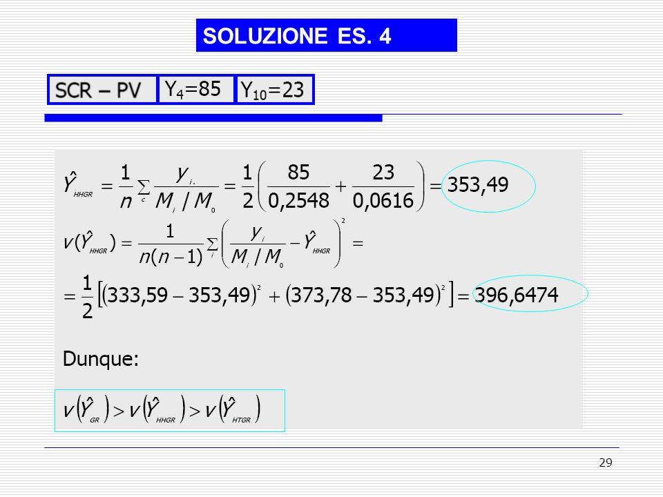 29 SOLUZIONE ES. 4