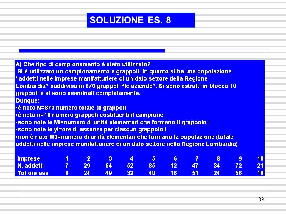 39 SOLUZIONE ES. 8