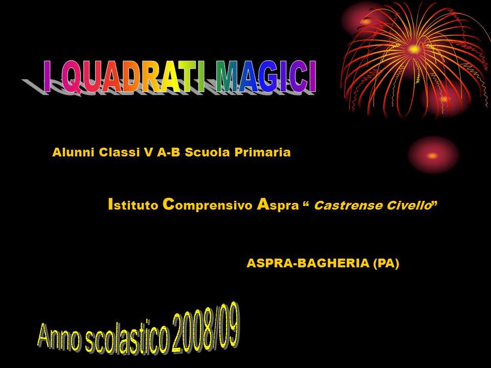 Alunni Classi V A-B Scuola Primaria I stituto C omprensivo A spra Castrense Civello ASPRA-BAGHERIA (PA)