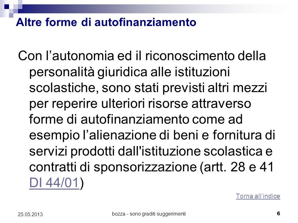 bozza - sono graditi suggerimenti7 25.05.2013 La L.