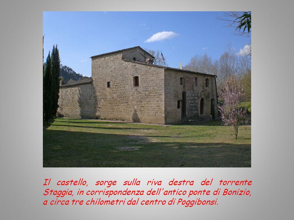 INTRODUZIONE Il Castello della Magione di Poggibonsi risale al secolo XI. Il 5 Settembre 1140 venne donato da Gottifredo e da Arnolfino Cristofani, er