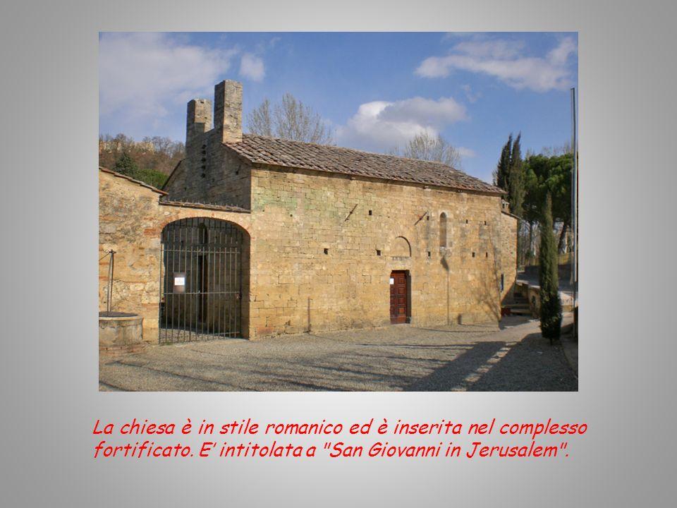 E costituito da una antica chiesa e da uno