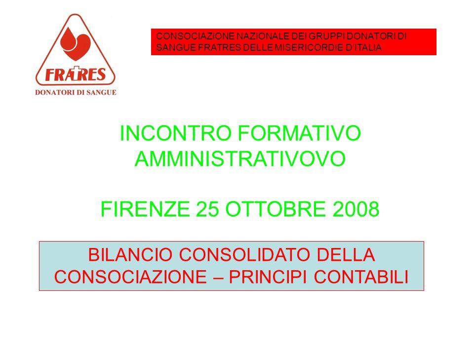 INCONTRO FORMATIVO – FIRENZE – 25 OTTOBRE 2008