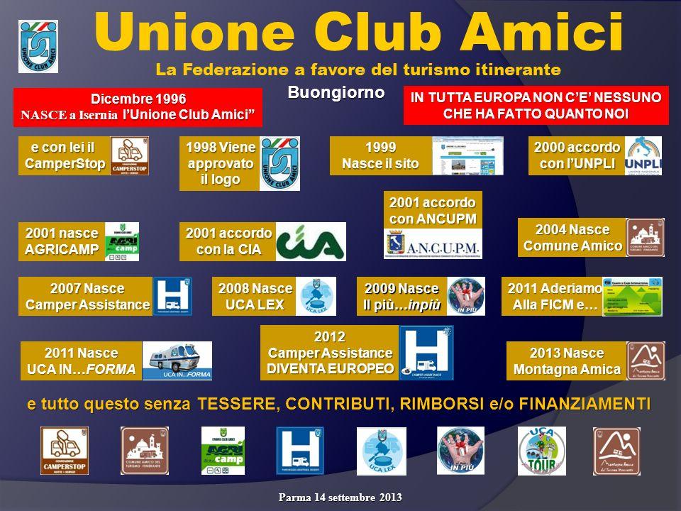 Parma 14 settembre 2013 GRAZIE Per la vostra partecipazione