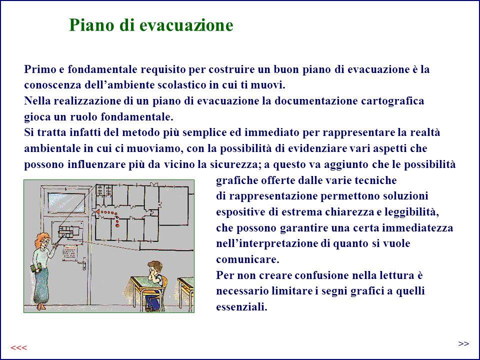 Primo e fondamentale requisito per costruire un buon piano di evacuazione è la conoscenza dellambiente scolastico in cui ti muovi. Nella realizzazione