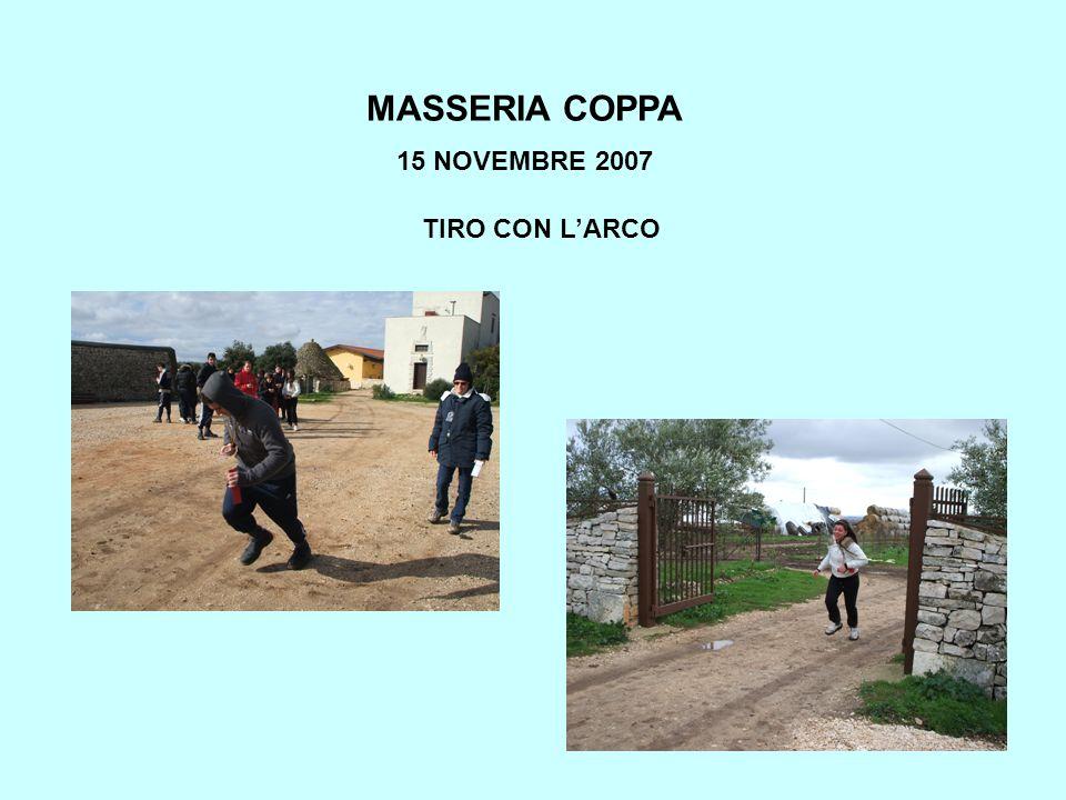 MASSERIA COPPA 15 NOVEMBRE 2007 TIRO CON LARCO