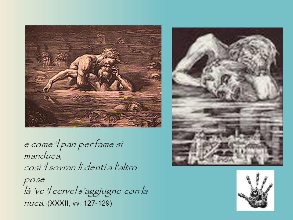 Gustav Dorè Racconto di Ugolino Il racconto del conte Ugolino La bocca sollevò dal fiero pasto quel peccator, forbendola a capelli del capo ch elli avea di retro guasto….
