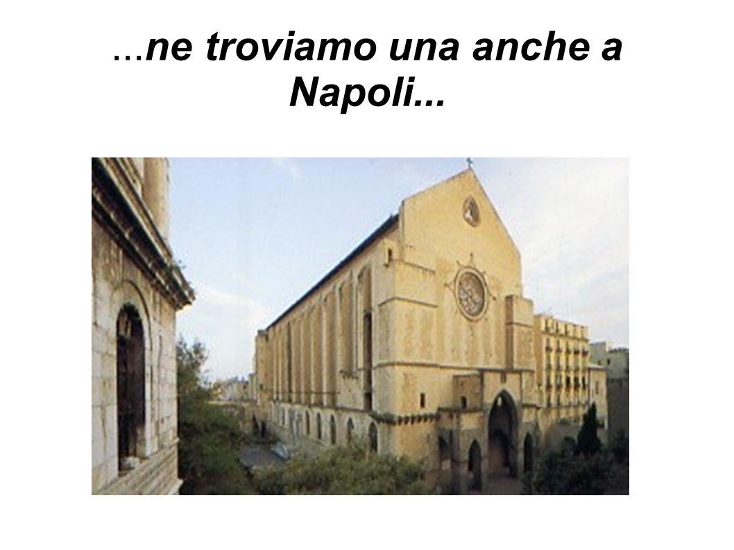 ...ne troviamo una anche a Napoli...